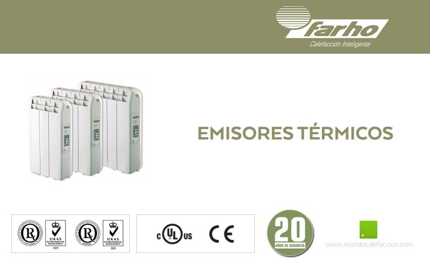 Emisores t rmicos farho de bajo consumo mundo calefacci n - Emisores termicos fluidos ...