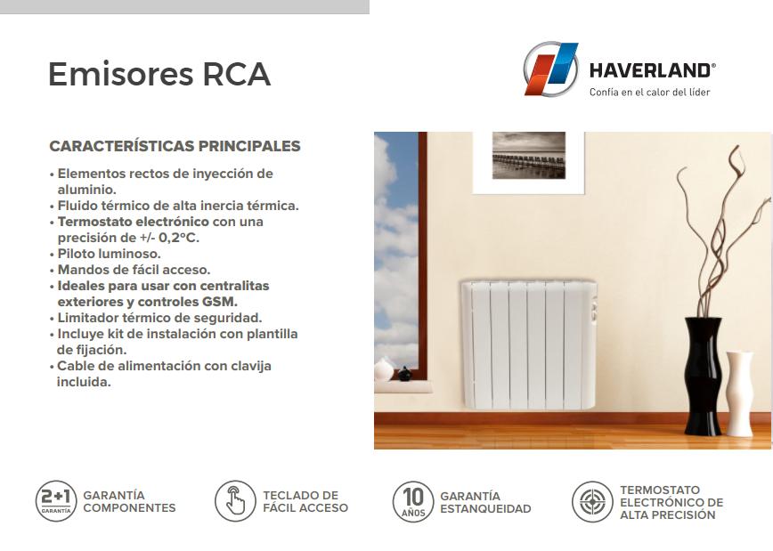 Emisores t rmicos haverland rca mundo calefacci n - Emisores termicos haverland ...