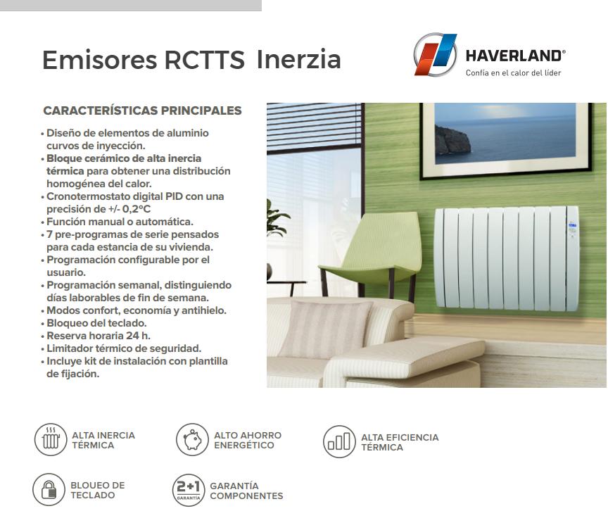 Emisores termicos rctt inerzia de haverland mundo - Emisores termicos haverland ...
