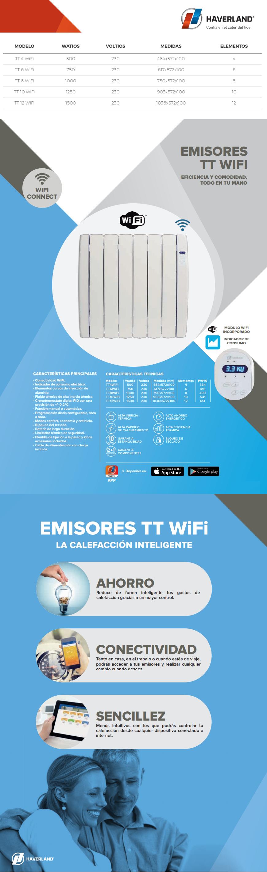 1250w wifirc 10 tt wifi emisor t rmico haverland - Emisores termicos haverland ...