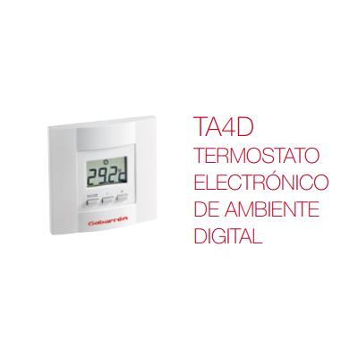 TA4d Termostato electrónico de ambiente digital Elnur Gabarrón