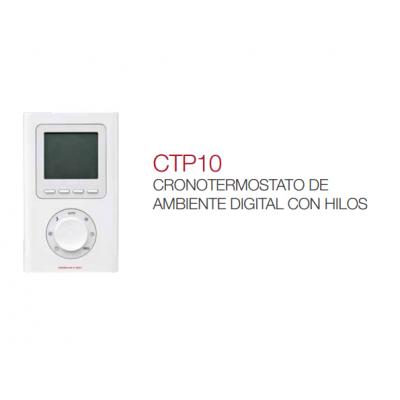 CTP10 Cronotermostato de ambiente digital con hilos Elnur Gabarrón