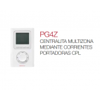 PG4Z Centralita multizona mediante corrientes portadoras CPL Elnur Gabarrón