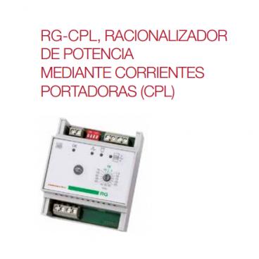 RG.CPL Racionalizador de potencias de corrientes portadoras (CPL) Elnur Gabarrón
