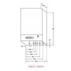 CMX15 Calderas digitales modulantes, calefacción y agua caliente sanitaria