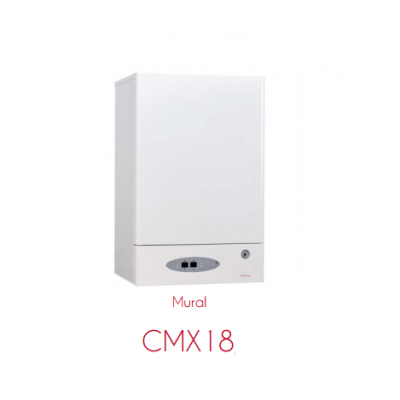 CMX18 Calderas digitales modulantes, calefacción y agua caliente sanitaria