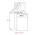 CMXP18 Calderas digitales modulantes, calefacción y agua caliente sanitaria