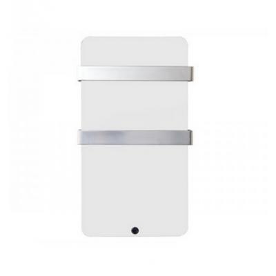 XTAL6B Toallero eléctrico de bajo consumo y diseño de cristal HAVERLAND