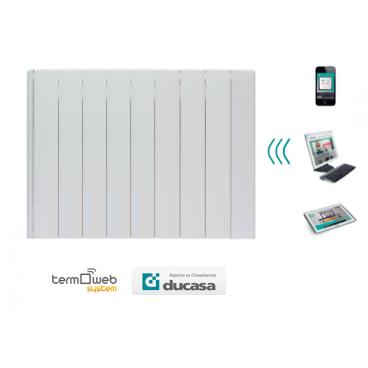1000 w iEM 3G WIFI Ducasa. Emisor térmico domótico de bajo consumo 8 elementos