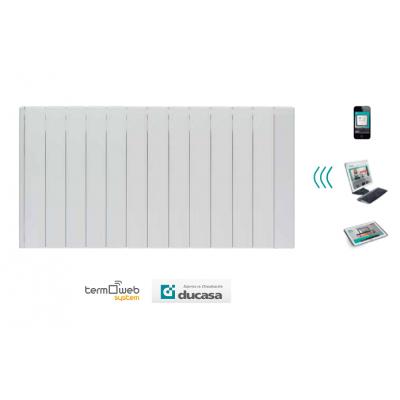 1500 w iEM 3G WIFI Ducasa. Emisor térmico domótico de bajo consumo 12 elementos