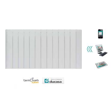 1800 w iEM 3G WIFI Ducasa. Emisor térmico domótico de bajo consumo 12 elementos