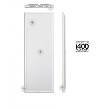 i400 blanco. Emisor térmico Newatt de bajo consumo 400 - 800 w