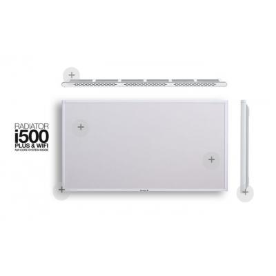 i500 blanco. Emisor térmico Newatt de bajo consumo 500 -1100w