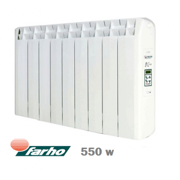 LST - 550 w Xana Plus Emisor térmico de bajo consumo Farho 5 elementos