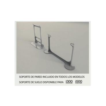 i300 - Soporte suelo Newatt iradiadors i300 cromado