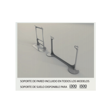 i500 - Soporte suelo Newatt iradiadors i500 cromado