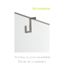 800w.vertical toallero Climastar Avant Touch barras acero inox