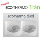 30 + 30 l. ( 250 l. ) Ecothermo DualTitan Climastar de bajo consumo