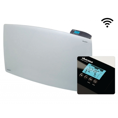 1200 w Vitro 3G WIFI Ducasa blanco - ultrawhite. Emisor térmico domótico