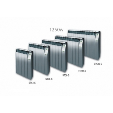 1250 w Silver emisor térmico Ecotermi TOUCH CONTROL