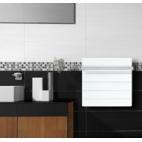 500w.cuadrado toallero Climastar Sillicium Touch barras acero inox