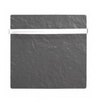 1000w.cuadrado toallero Climastar Sillicium Touch  barras acero inox