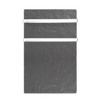 800w.vertical toallero Climastar Sillicium Touch barras acero inox