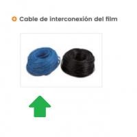 azul cable de doble aislamiento