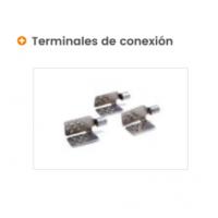 Terminales de conexión especificos