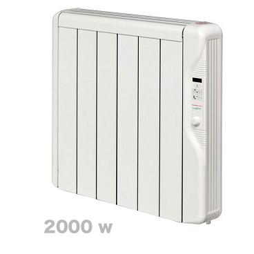 2000 w RXE plus. Emisor térmico Elnur Gabarrón series RX