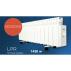 LPR-13 1430w Emisor térmico Farho de perfil bajo con ruedas