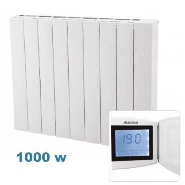 1500 w Alu Stone Ducasa. Emisor térmico cerámico de bajo consumo