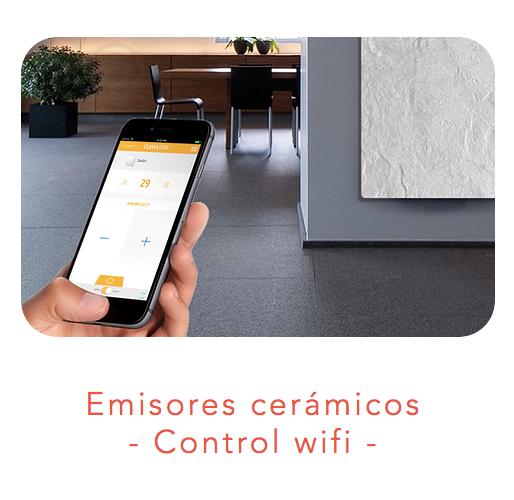 Emisores cerámicos con control wifi 1.