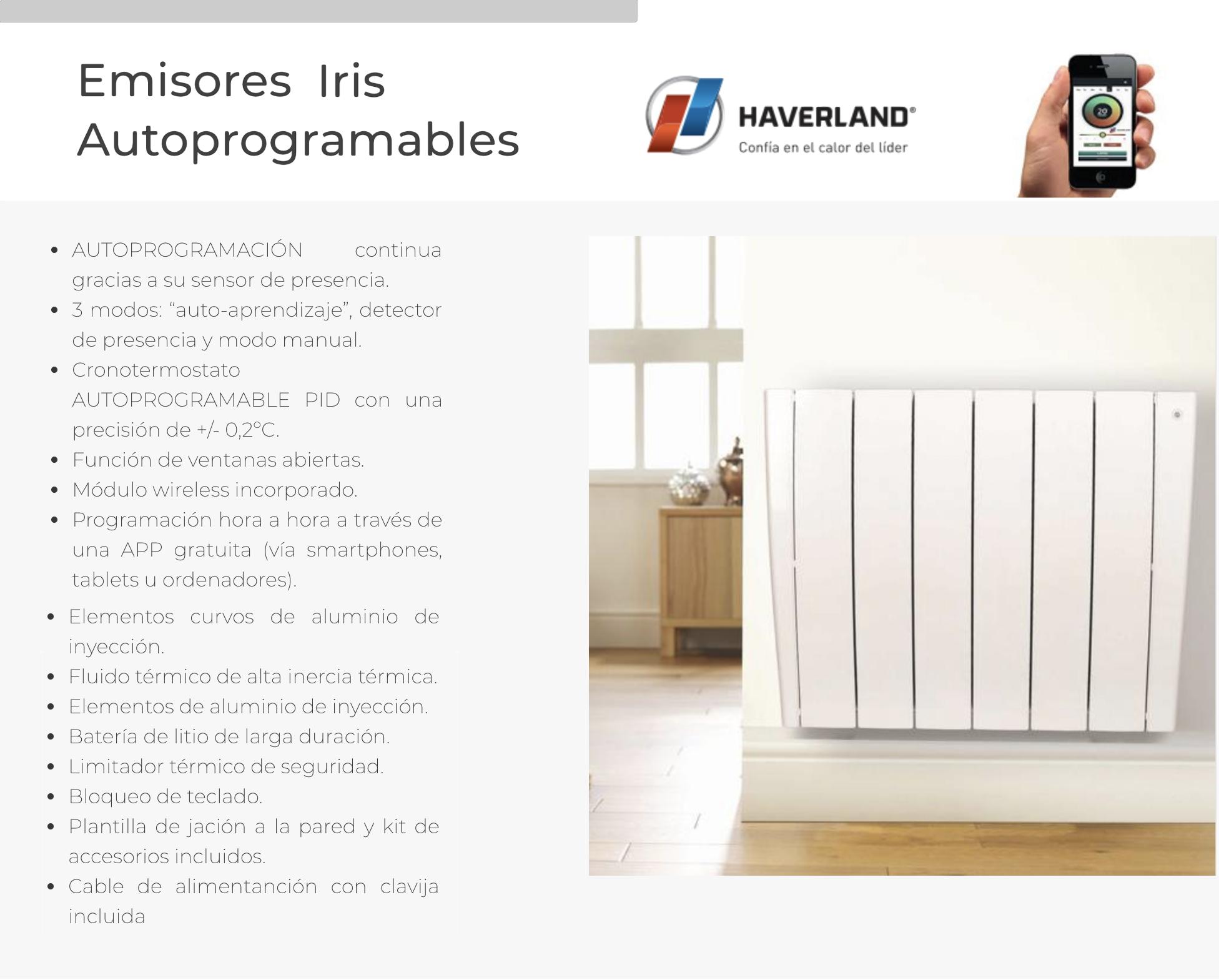 Radiadores Haverland Iris .png