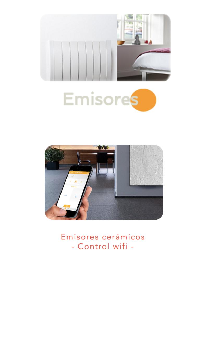 Radiadores ceramicos con control wifi.pn