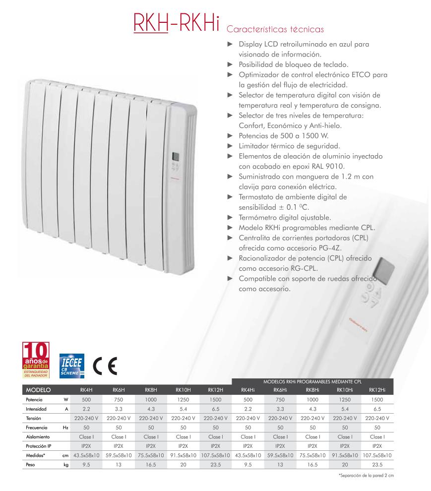 Radiadores electricos de bajo consumo elnur gabarron - Emisor termico de bajo consumo ...