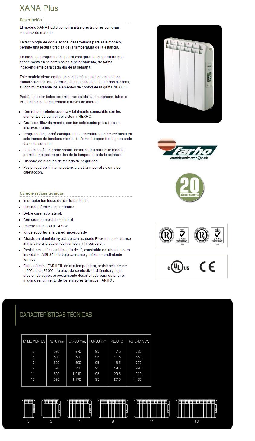 330 w xana plus emisor t rmico de bajo consumo farho 3 - Emisor termico de bajo consumo ...